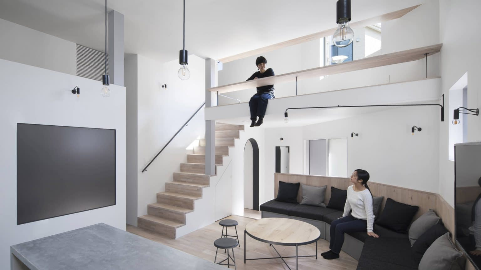 Small Co Living House with Japanese Architecture for Optimal Efficiency