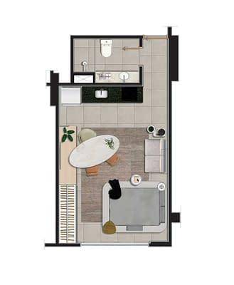 Studio-Apartment-Rio-Cite-Arquitetura-17-810x985
