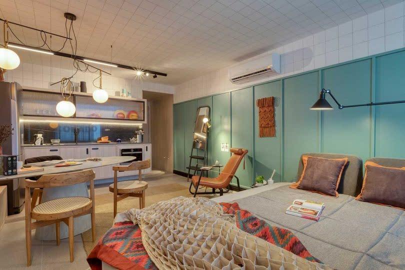 Multifunction Concept of Studio Apartment