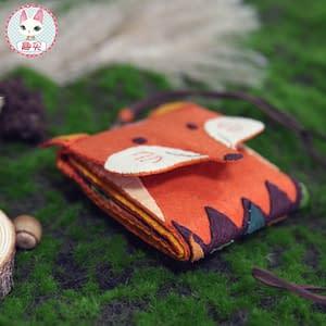 Fox shaped Non-woven fabric
