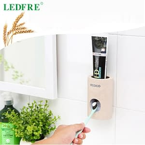 LEDFRE Automatic Toothpaste Dispenser for Bathroom