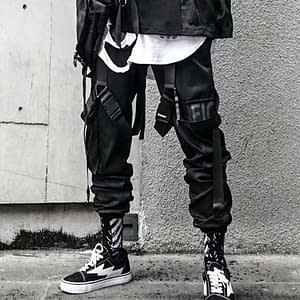Cargo Pants for Men Casual Hip Hop