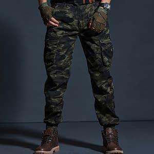 Casual Pants Men Military Tactical Joggers