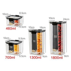 Dry Food Storage Box Food Containers Transparent