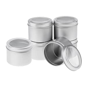 Storage Container with Screw Lids
