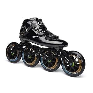 JK Carbon Fiber Cityrun Professional Speed Inline Roller Skates