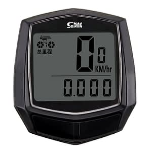 Waterproof Bicycle Wired Stopwatch