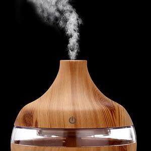 Wood Grain Essential Oil Aromatherapy Diffuser